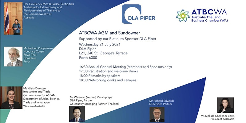 ATBCWA AGM and Sundowner