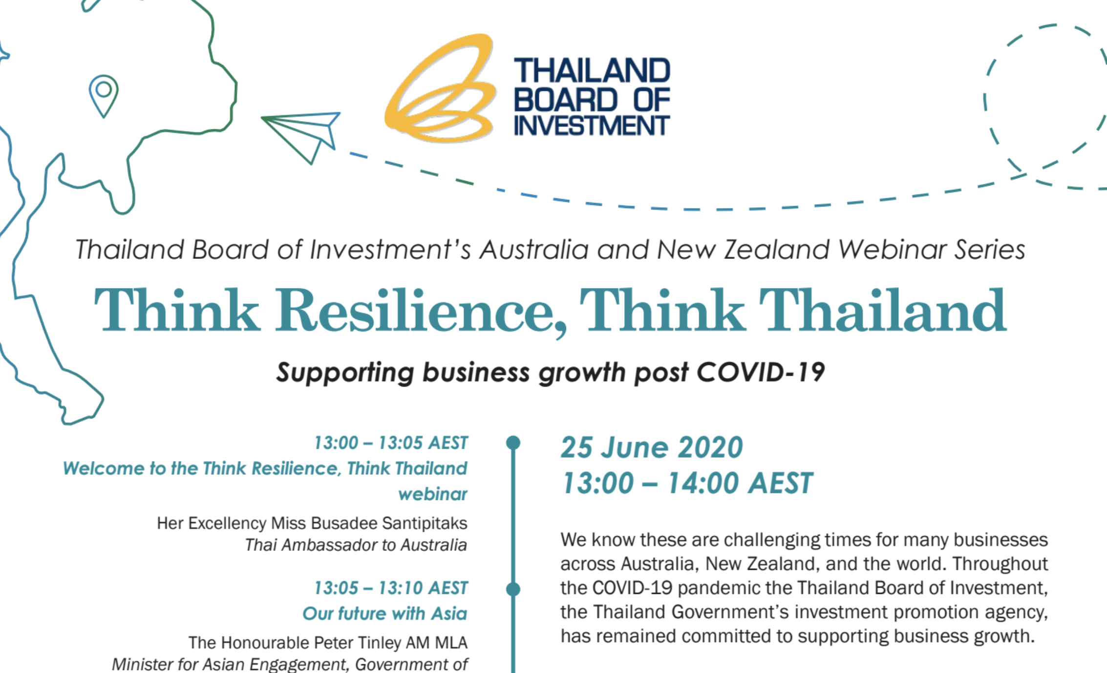 Think Resilience, Think Thailand